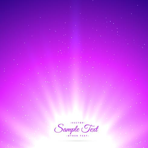 purple sunburst shiny glowing background
