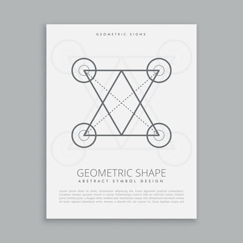 géométrie de la ligne sacrée