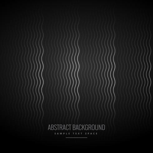 elegant dark black background with wave pattern
