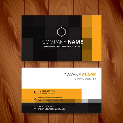 Modern pixel business card vector design download free vector art modern pixel business card vector design reheart Gallery