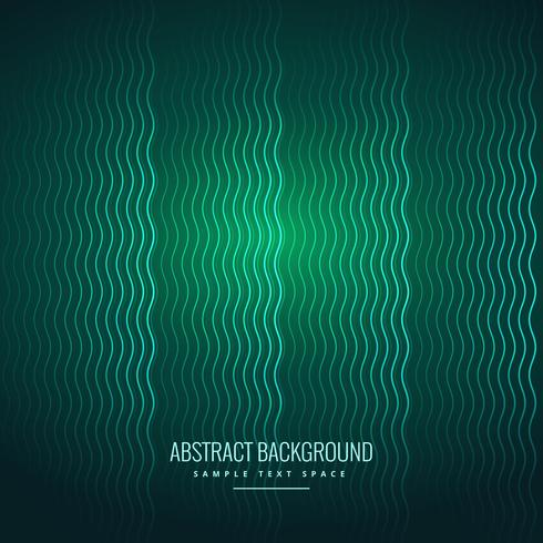 abstract wavy lines green background