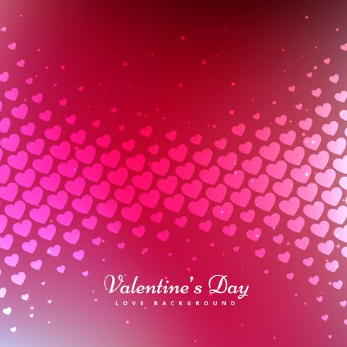 valentines day pink background vector design illustration