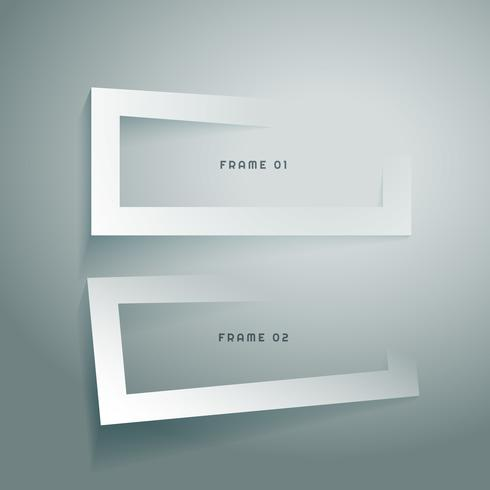 design limpo quadro 3d