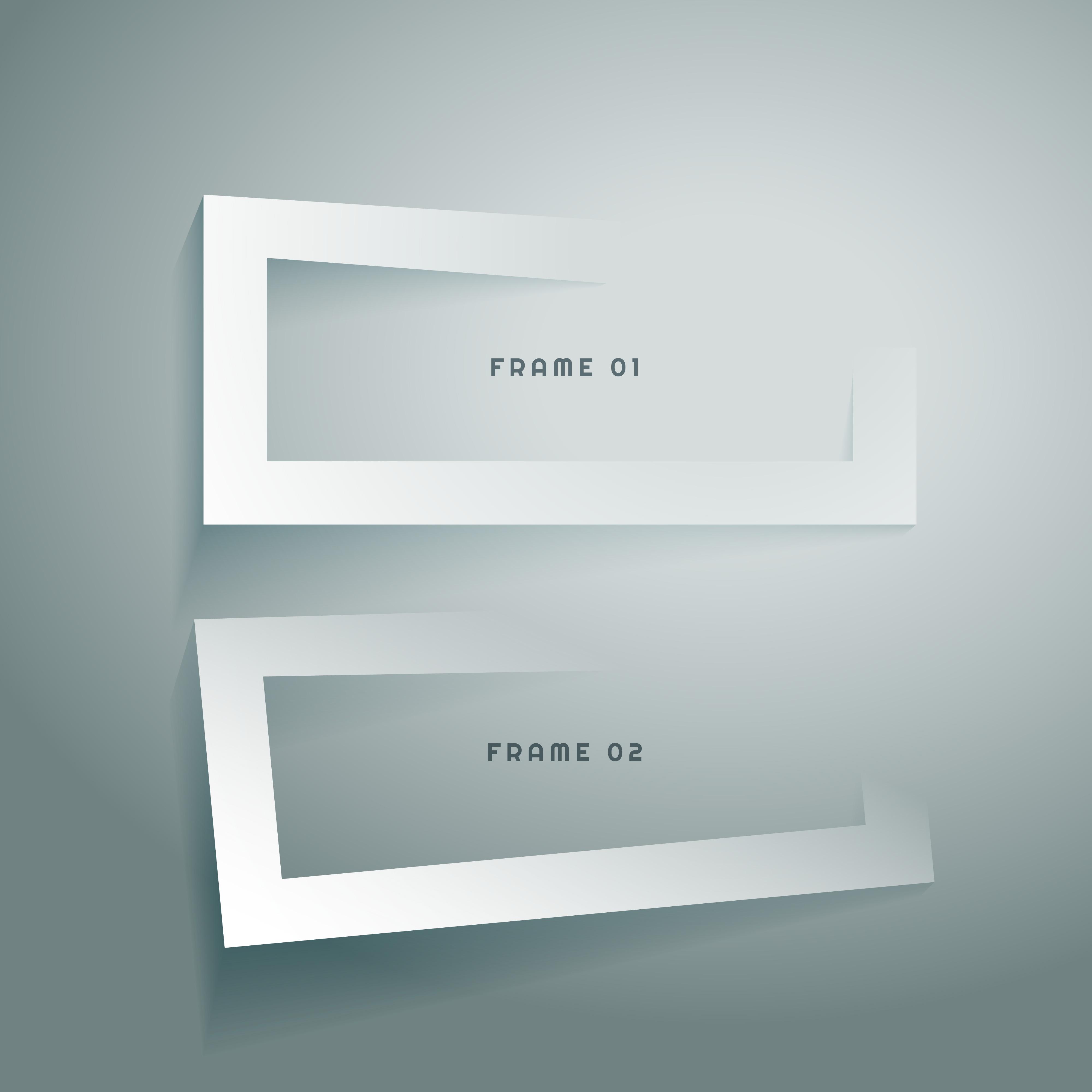 3d Frames Free Vector Art - (7965 Free Downloads)