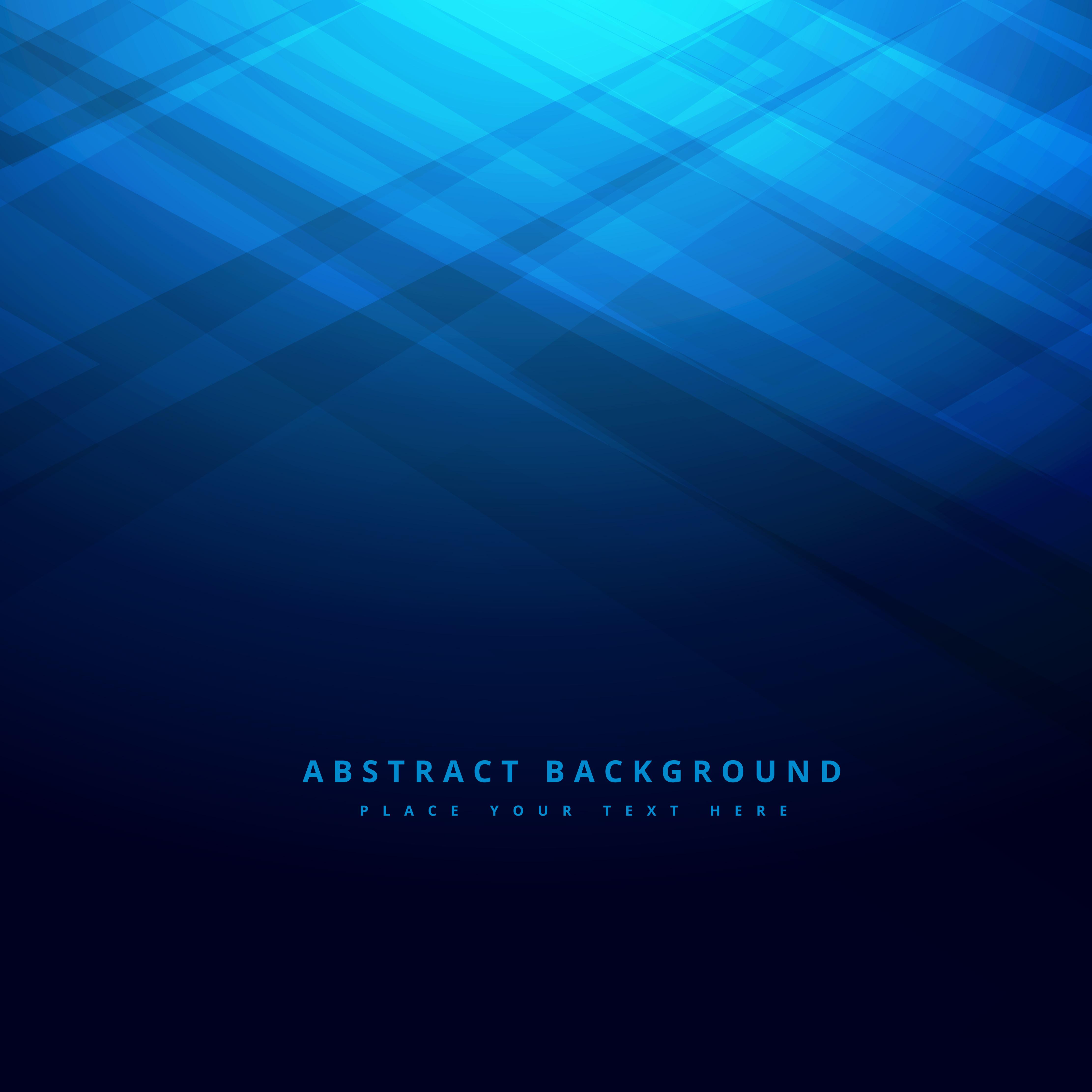 Abstract Underwater Blue Background