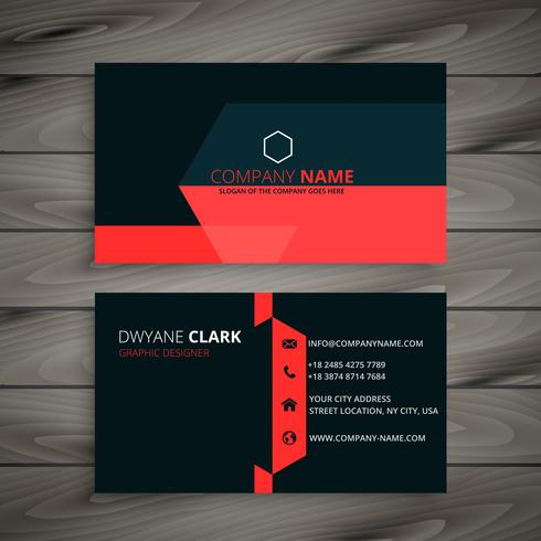 Modern red black business card template vector design illustrati modern red black business card template vector design illustrati fbccfo Image collections