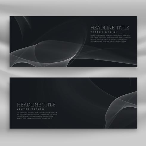 dark professional banner template