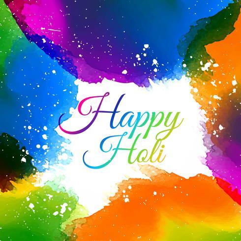 cores do festival de holi indiano