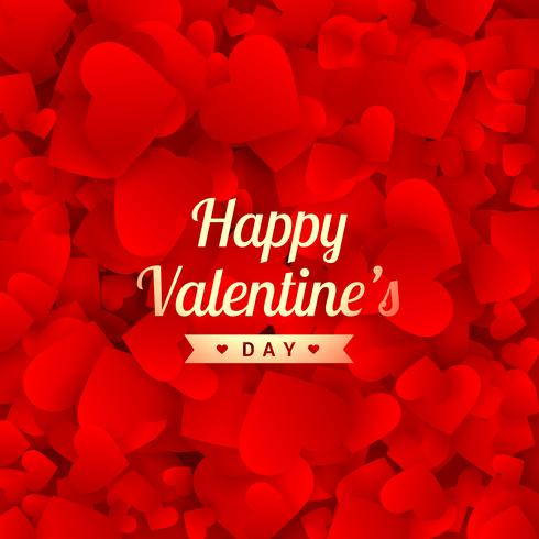beautiful happy valentines day vector design illustration