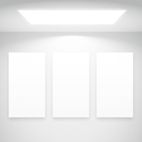 white light with picture frames