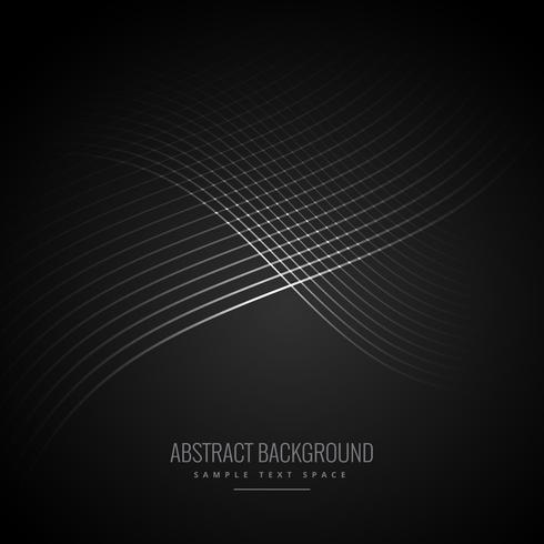 dark background with shiny flowing lines