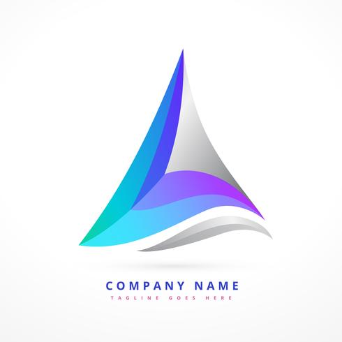 abstract business symbol design illustration