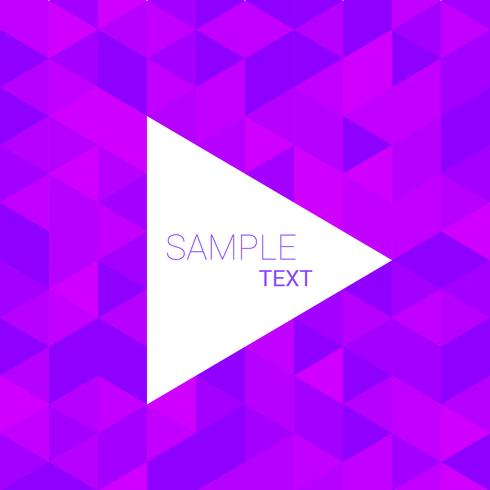 purple triangle pattern background