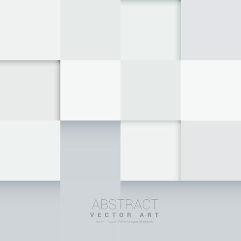 minimal style mosaic white background