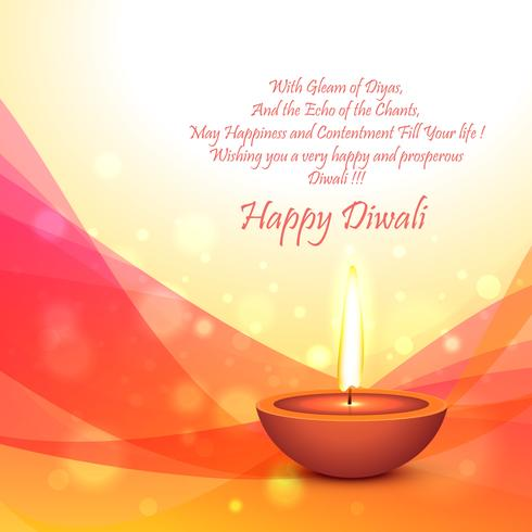 plantilla de tarjeta de festival de diwali