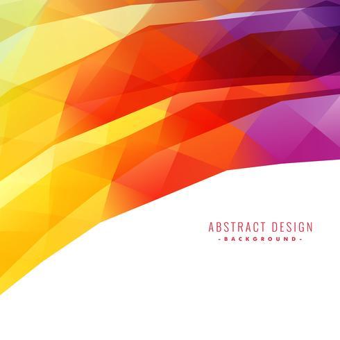 färgstark abstrakt bakgrundsdesign