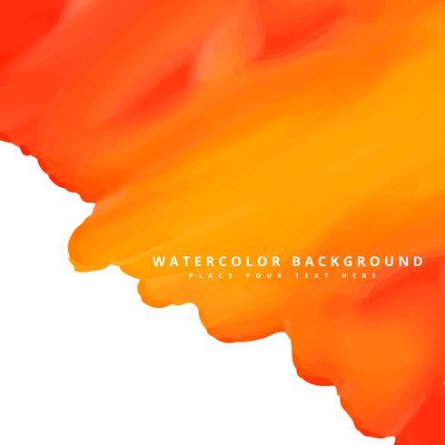 orange vattenfärg bakgrund