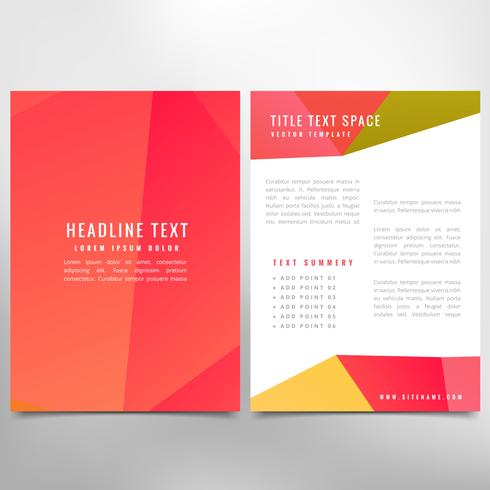 corporate business brochure design
