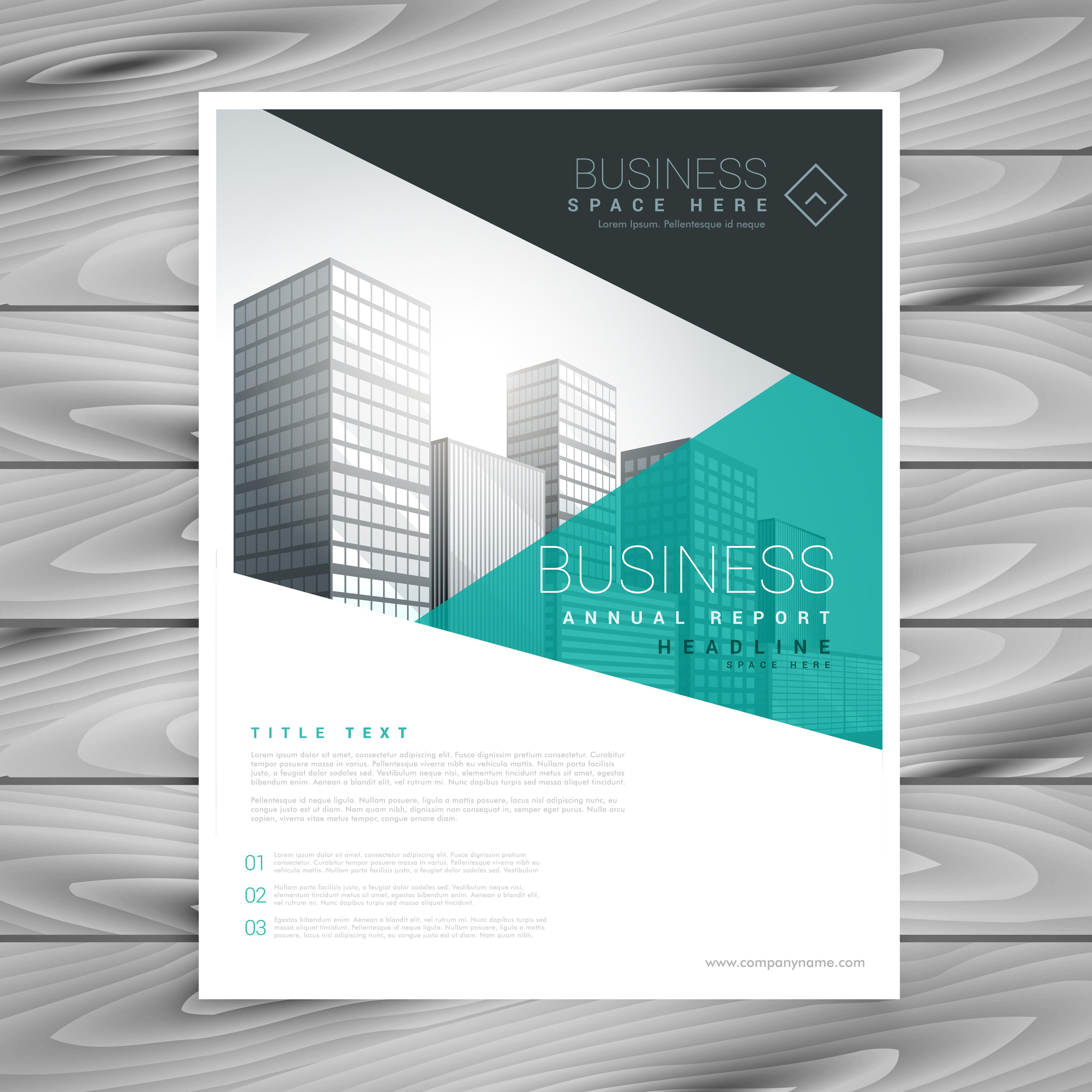 Brochure Layout Template Flyer Presentation