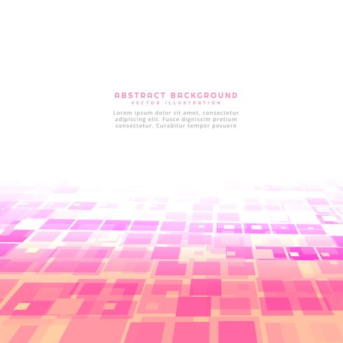 pink abstract square background
