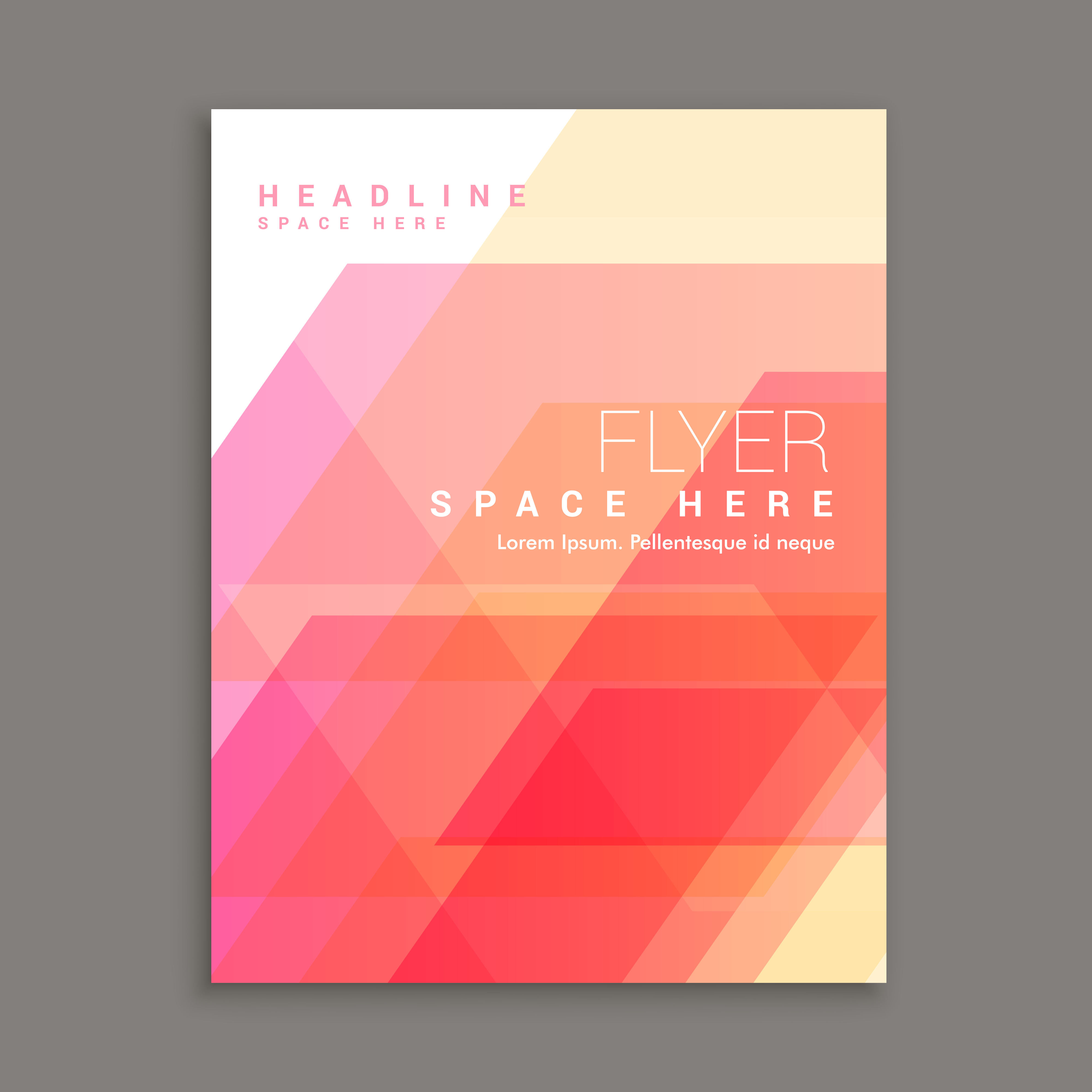 Art Calendar Business Magazine : Business brochure flyer template magazine cover download