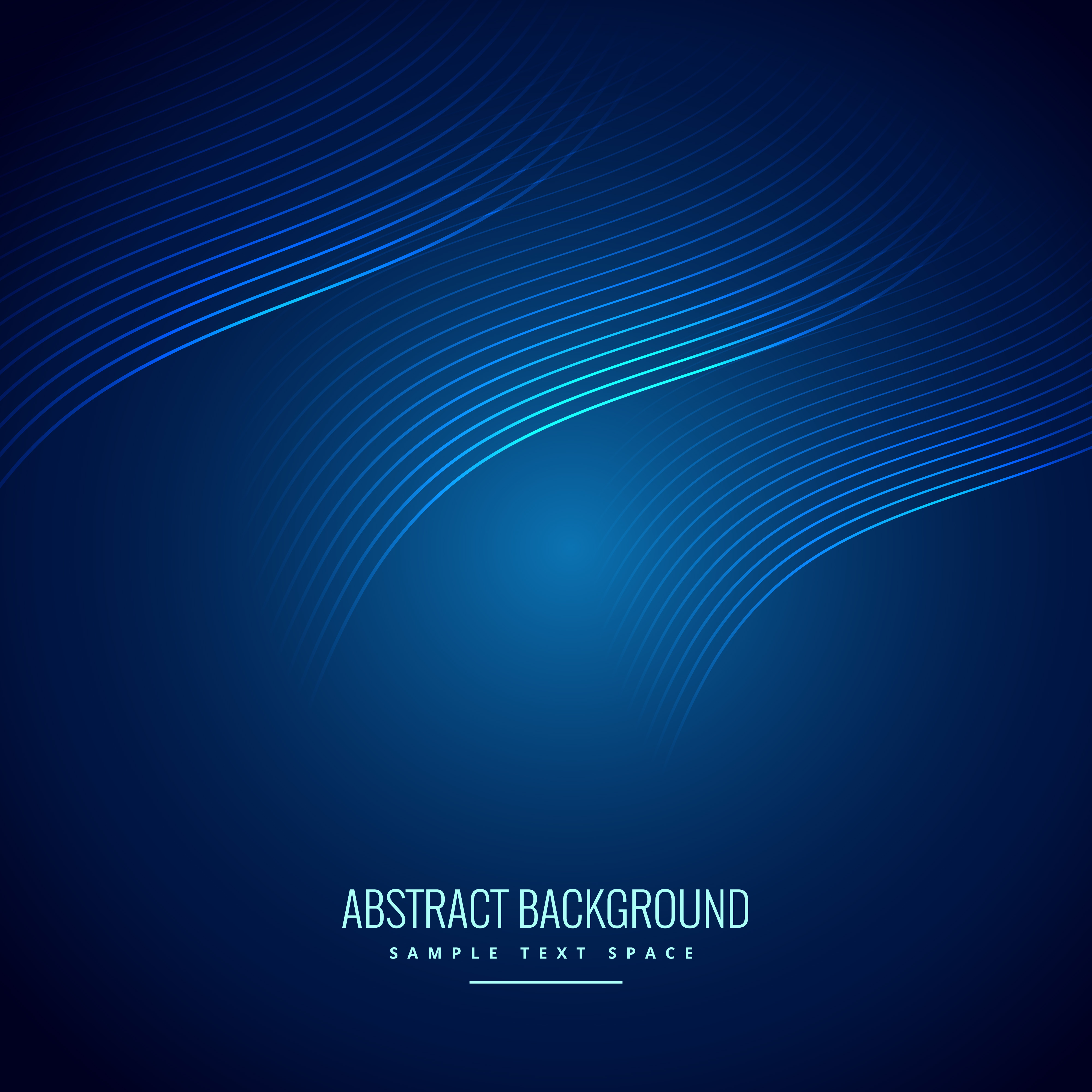 Vector Drawing Lines Html : Abstract blue background with wave lines download free