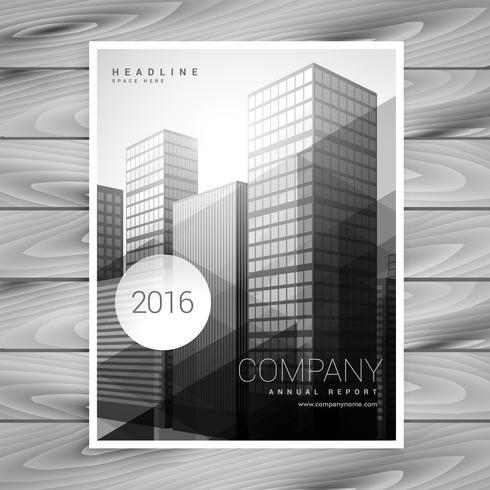 design moderno modello di brochure aziendale