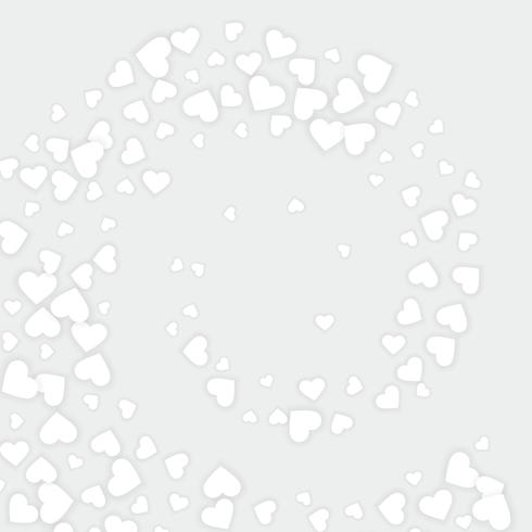 love white hearts background vector design illustration