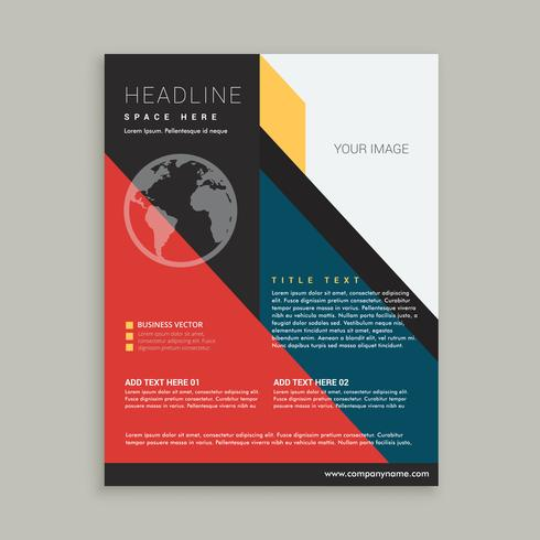 business brochure flyer poster template