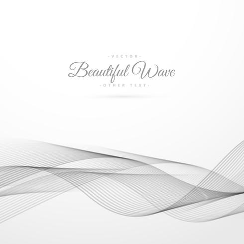 abstract wave in white background