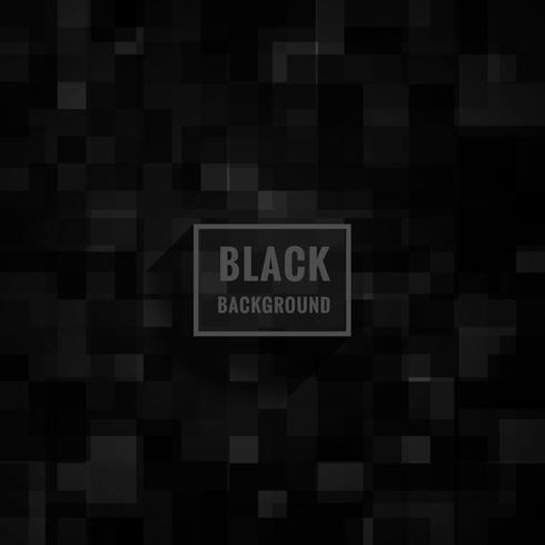 black dark mosaic background vector design illustration