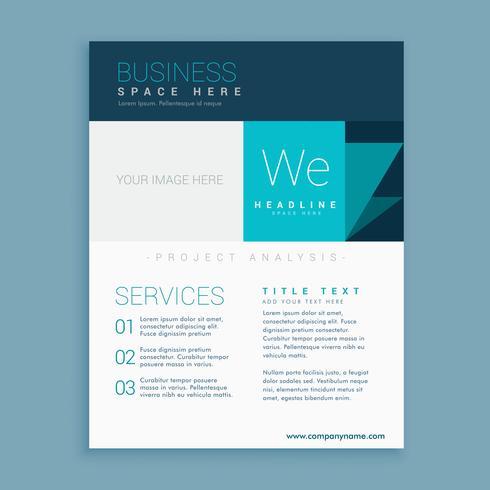 brand identity brochure template