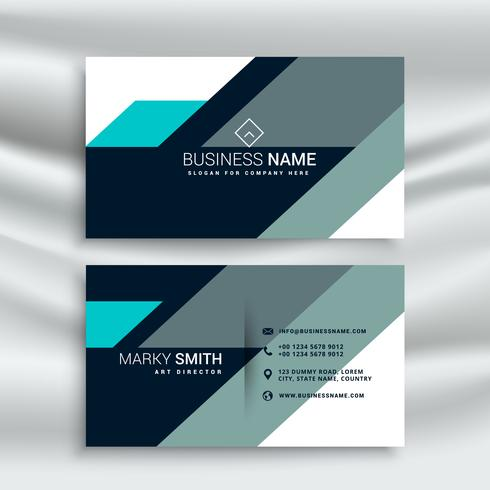 Creative modern shapes blue business card template download free creative modern shapes blue business card template colourmoves