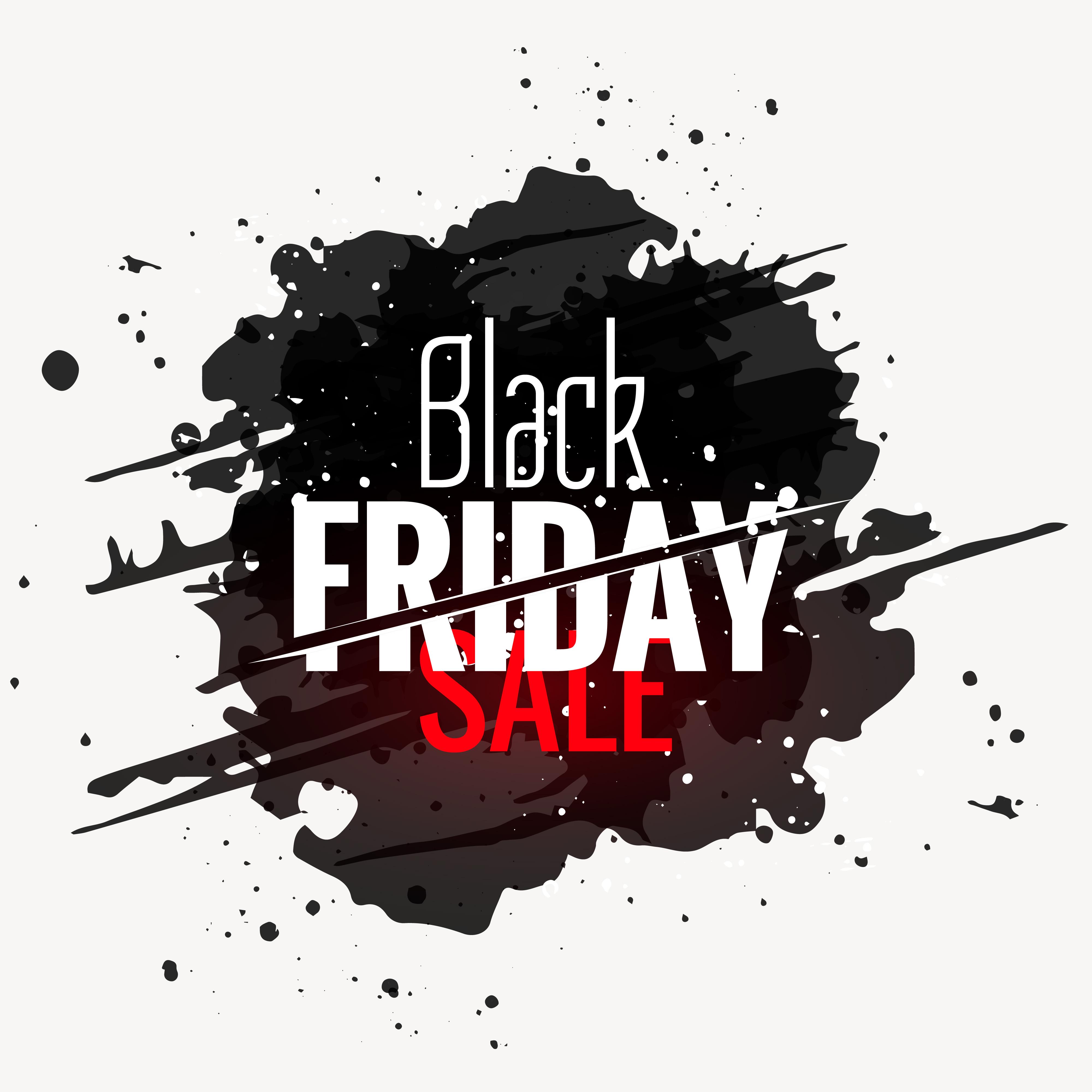 conception d 39 tiquette de style grunge noir vendredi vente t l chargez de l 39 art des. Black Bedroom Furniture Sets. Home Design Ideas