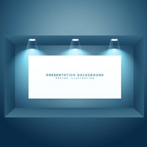 presentation background with light effects
