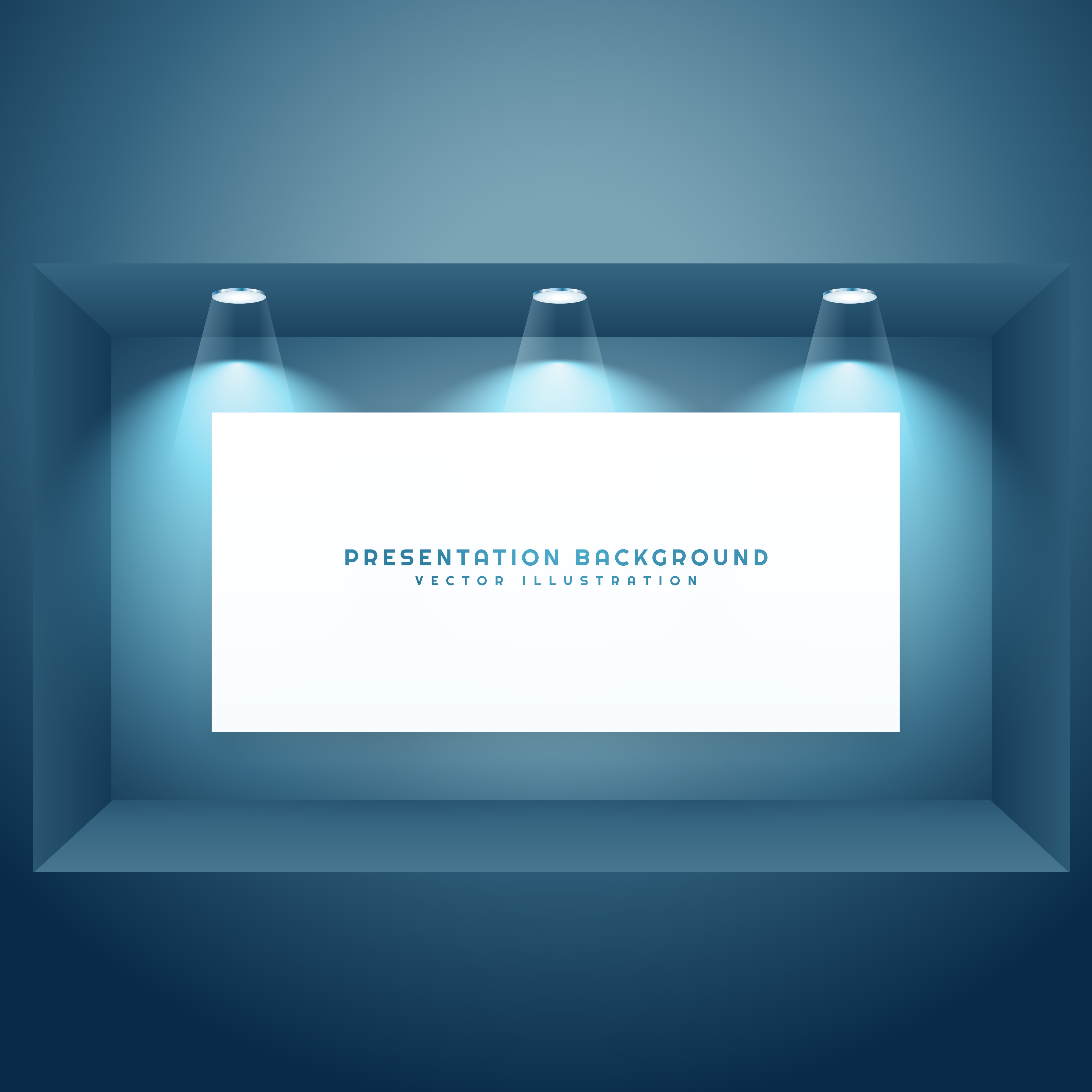 Presentation Background With Light Effects Download Free