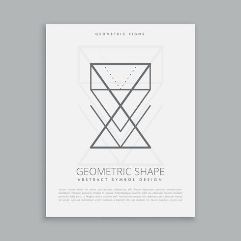 lineart geometric shapes