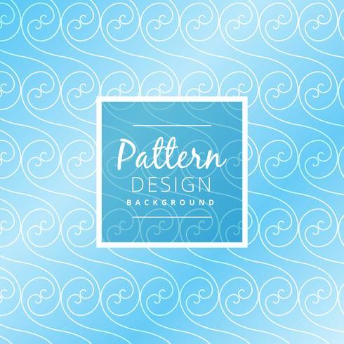 blue swirl pattern background vector design illustration