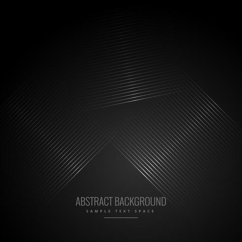 black background with abstract diagonal lines