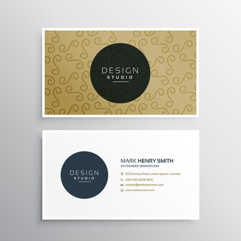 company business card template presentation