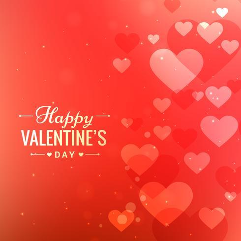 kärlek hjärtan kort bakgrund vektor design illustration