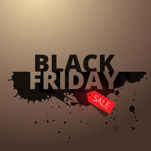 black friday stylish sale background
