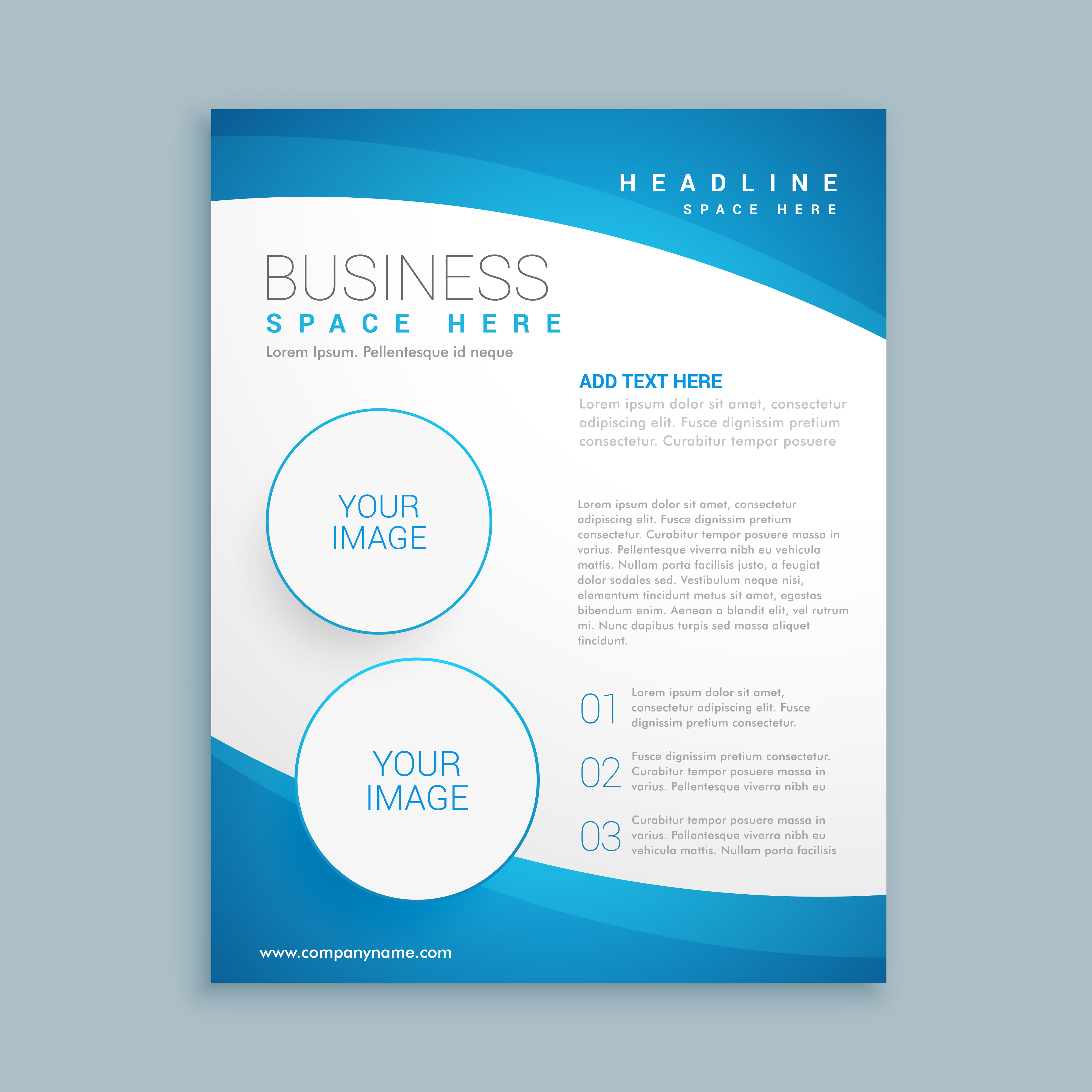 Corporate Business Brochure Template Download Free