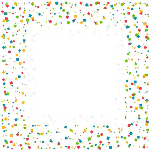 confetti celebration background with space for your text