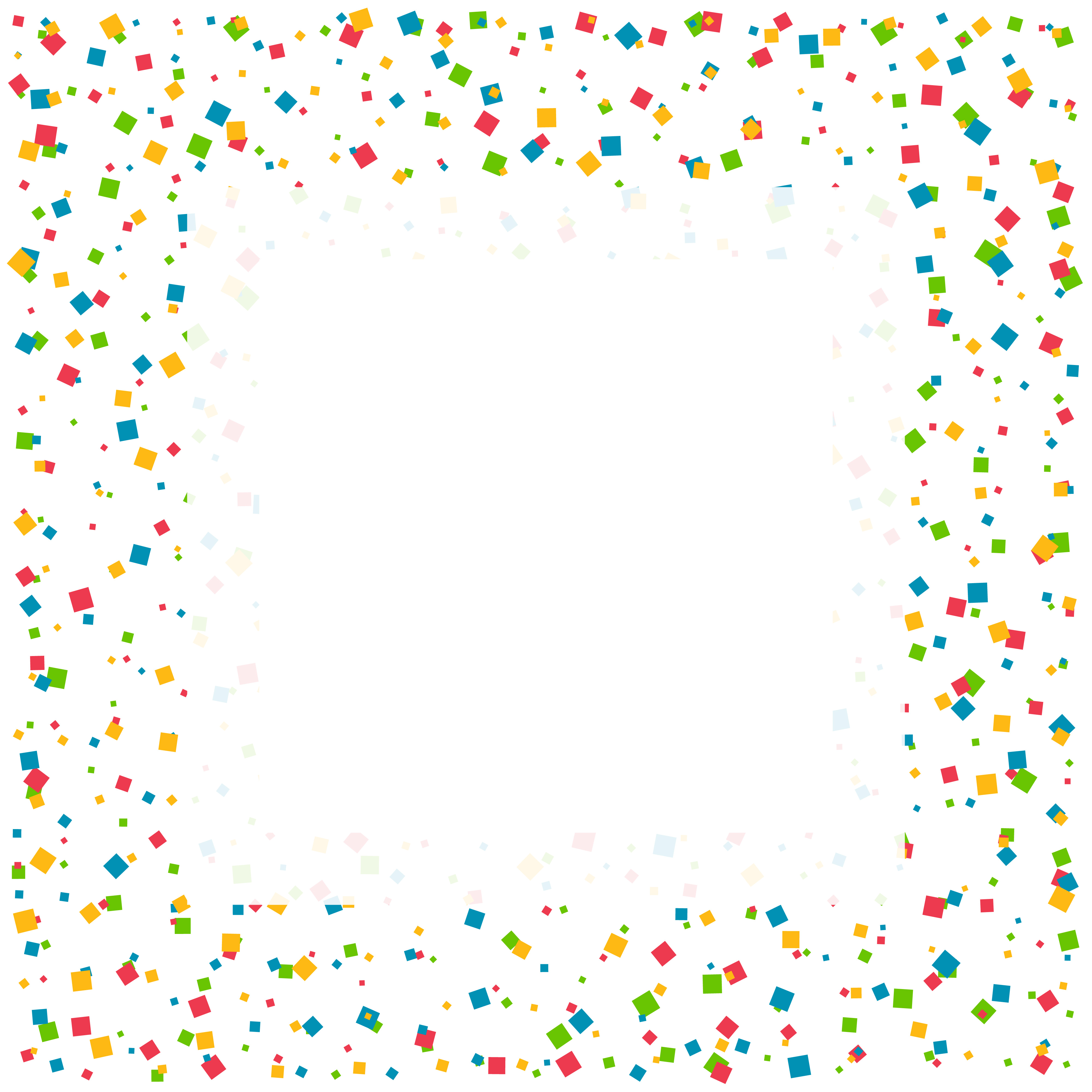 confetti celebration background with space for your text ...
