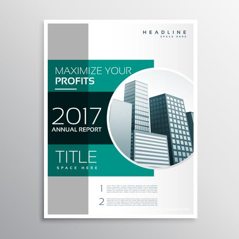 Company Annual Report Business Brochure Design Template  Annual Report Template Design