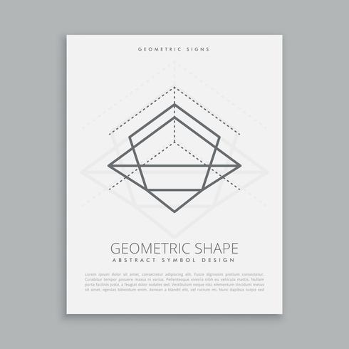 lignes géométriques mystiques