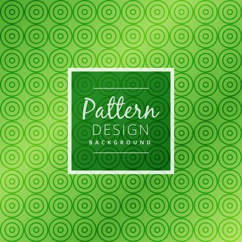 green circle pattern background vector design illustration
