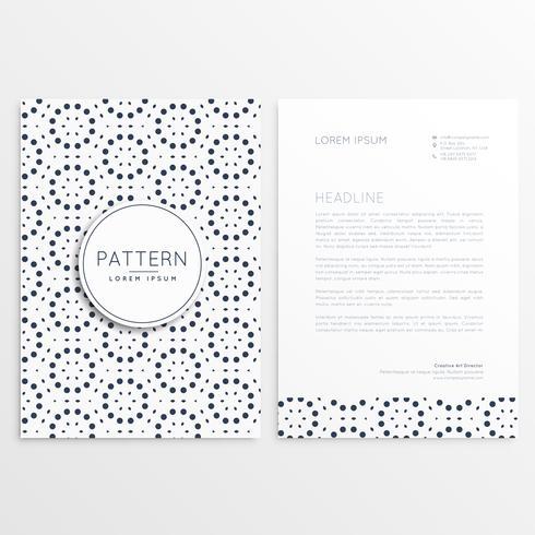 modèle de brochure d'entreprise simple