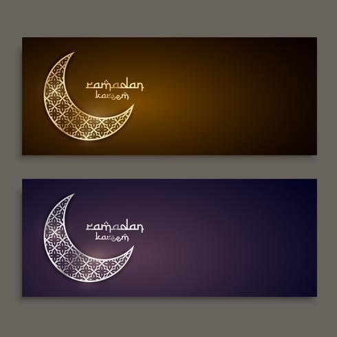projeto de banners do festival de ramadan